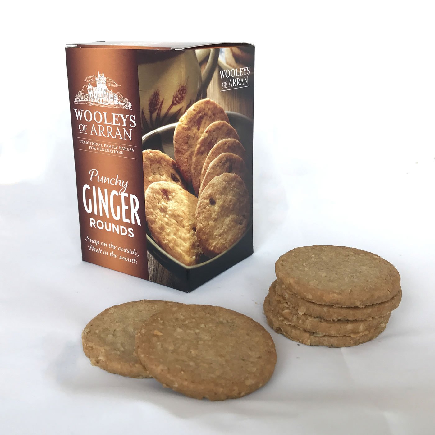 WOOLEYS GINGER ROUNDS